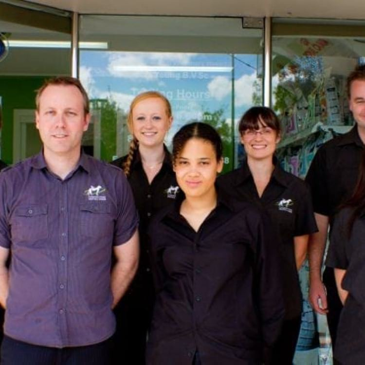 The Companion Animal Vet team