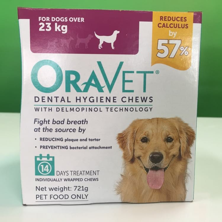 oravet dental chews packaging