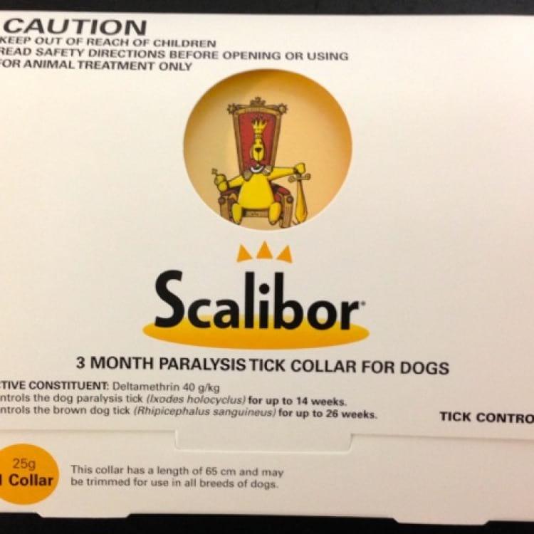 scalibor tick collar in box